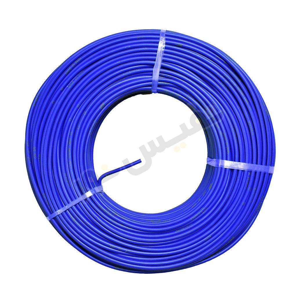 سیم برق افشان 2.5 آبی هادی نور گستر (پارسیم)