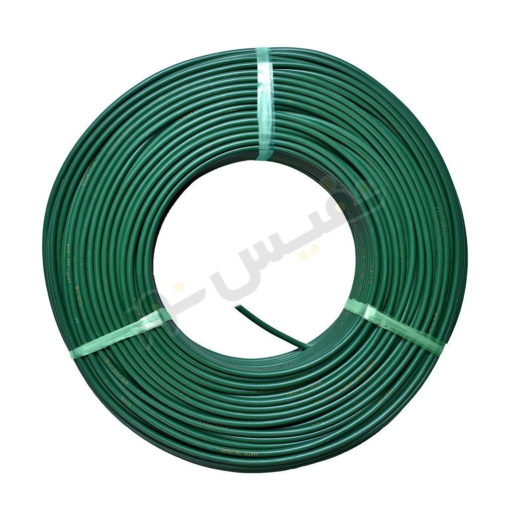 سیم برق افشان 2.5 سبز هادی نور گستر (پارسیم)