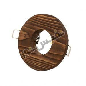 خرید و قیمت قاب هالوژن چوبی دکوراتیو لوکس لاکچری تخت دایره کلاسیک نور ایلیا کد 1226