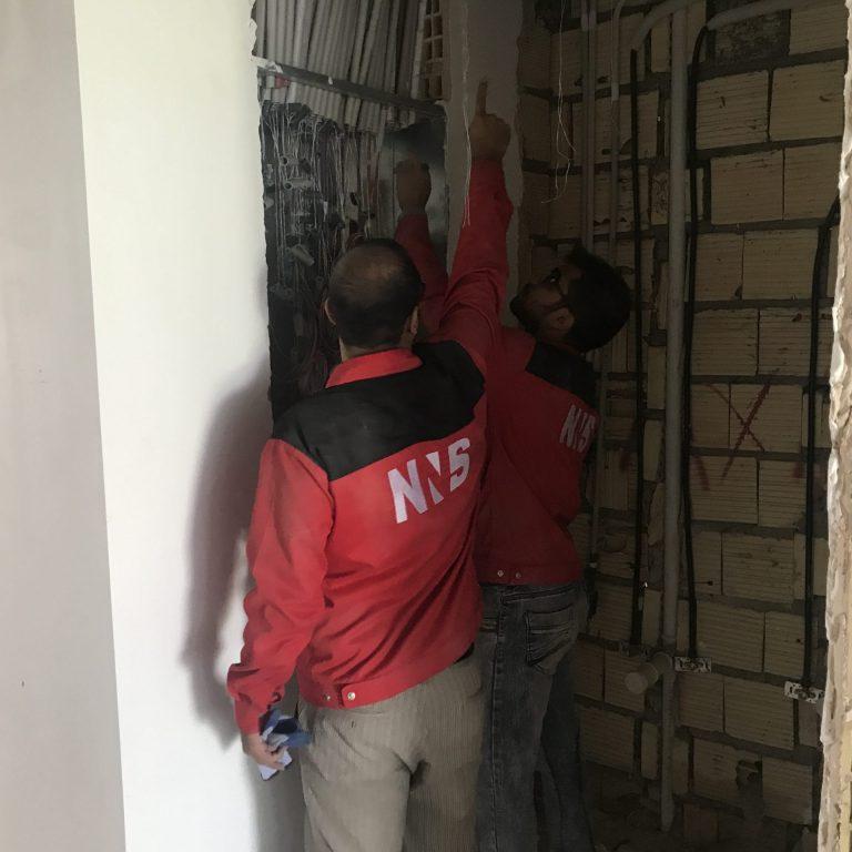اجرا برق ساختمان