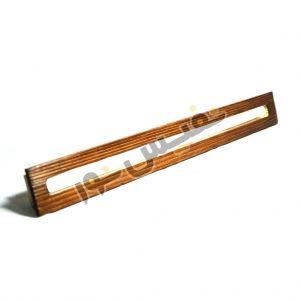 چراغ چوبی خطی تخت