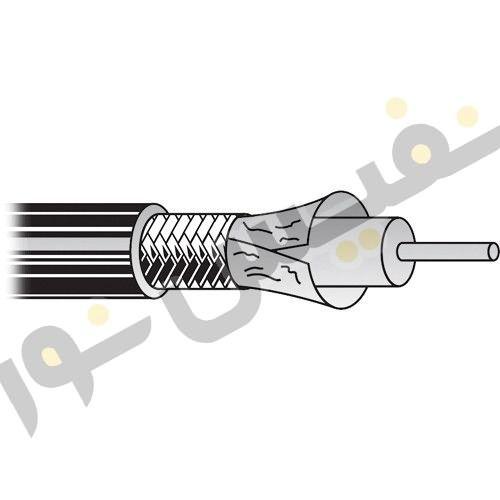 خرید کابل آنتن یا کواکسیال RG6 صادراتی فویلدار 4/5C هادی نور گستر
