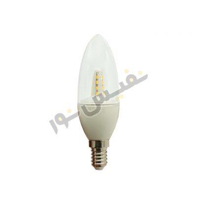 لامپ شمعی 1.3 وات MLS پایه E14