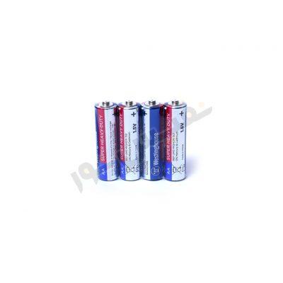 باتری قلمی وستینگهاوس مدل Super Heavy Duty بسته 4 عددی