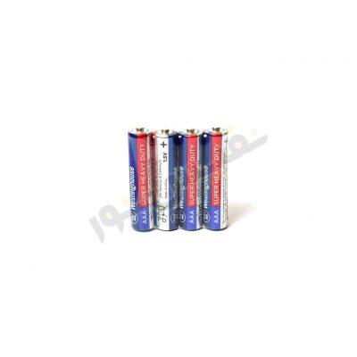باتری نیم قلمی وستینگهاوس مدل Super Heavy Duty بسته 4 عددی