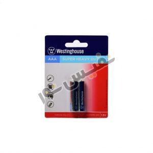 خرید و قیمت باتری نیم قلمی اصلی ارزان قیمت وستینگهاوس مدل Super Heavy Duty (بسته 2 عددی)