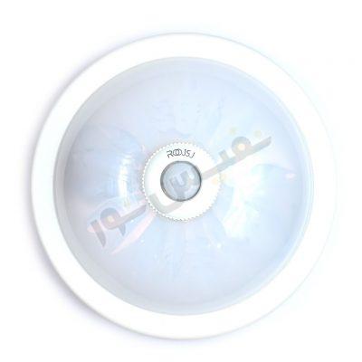 قاب چراغ سقفی 2 لامپ سنسوردار
