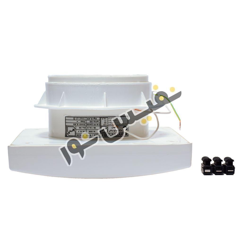 خرید و قیمت هواکش خانگی لوله ای آشپزخانه بی صدا دمنده مدل توربو VMA-10S2S