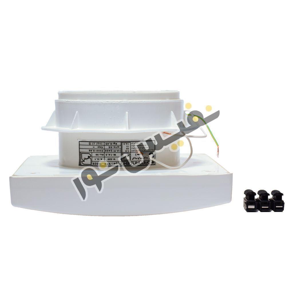 هواکش لوله ای خانگی دمنده مدل توربو VPH-10S2S