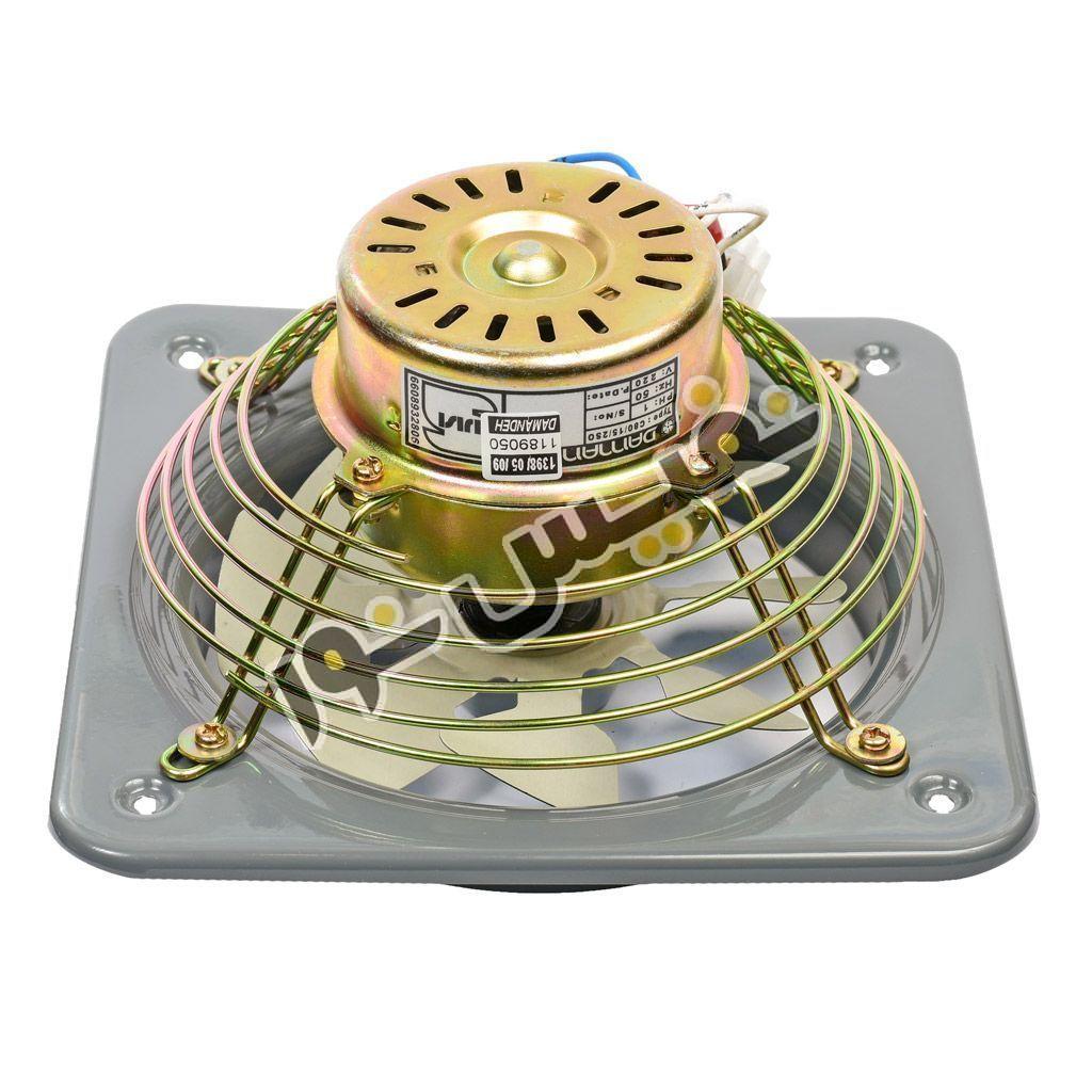 خرید و قیمت هواکش خانگی آشپزخانه بی صدا فلزی دمنده مدل مدل VMA-15C2S