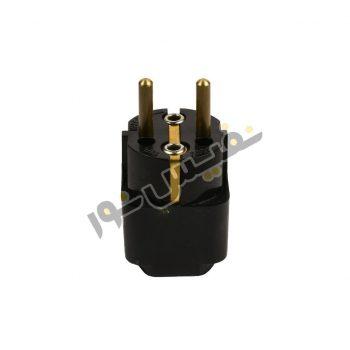 مبدل برق مدل 3 به 2 ارت دار معین الکتریک