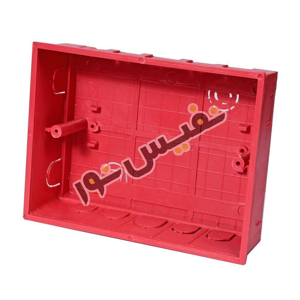 خرید و قیمت جعبه فیوز یا کلید مینیاتوری توکار ارزان 8 عددی فانوس