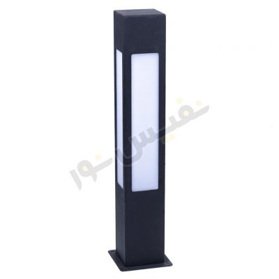 چراغ چمنی مکعبی چهار طرفه ارتفاع 55 سانتیمتر