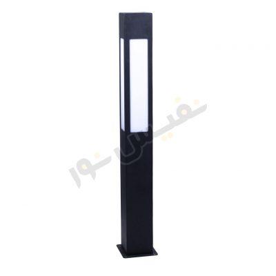 چراغ چمنی مکعبی چهار طرفه ارتفاع 80 سانتیمتر