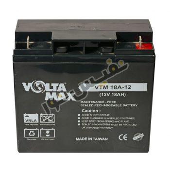 باتری یو پی اس 12 ولت 18 آمپر ساعت ولتامکس