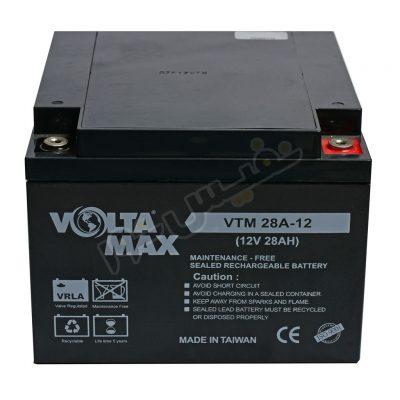 باتری یو پی اس 12 ولت 28 آمپر ساعت ولتامکس