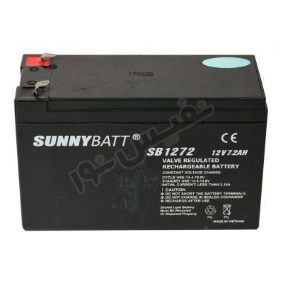 باتری یو پی اس 12 ولت 7.2 آمپر ساعت سانی بت