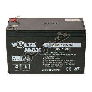 باتری یو پی اس 12 ولت 7.5 آمپرساعت ولتامکس