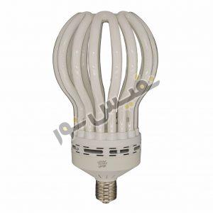 خرید و قیمت لامپ کم مصرف لوتوس ایرانی ارزان قیمت آفتابی و مهتابی 200 وات آژیراک