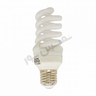لامپ کم مصرف 18 وات زمان نور