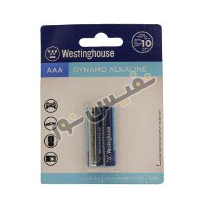 باتری نیم قلمی وستینگهاوس مدل Dynamo Alkaline (بسته 2 عددی)