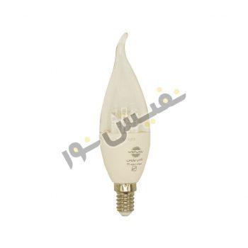 لامپ ال ای دی 7 وات پارس شهاب مدل اشکی شفاف