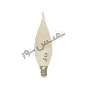لامپ ال ای دی 7 وات پارس شهاب مدل اشکی مات