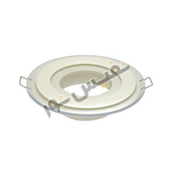 قاب هالوژن ABS پلاستیکی کد 2004