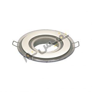 قاب هالوژن ABS پلاستیکی کد 2005