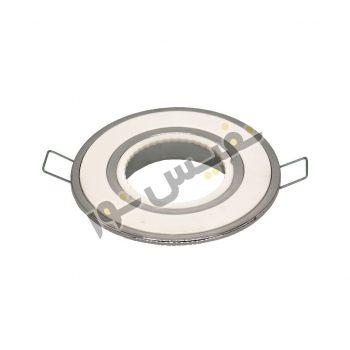قاب هالوژن ABS پلاستیکی کد 2006