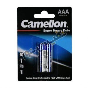 خرید و قیمت باتری نیم قلمی اصلی کملیون ارزان قیمت مدل Super Heavy Duty (بسته2 عددی)