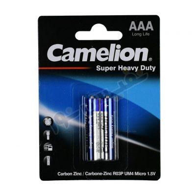 باتری نیم قلمی کملیون مدل Super Heavy Duty (بسته 2 عددی)
