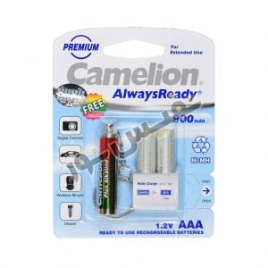 خرید و قیمت باتری قابل شارژ نیم قلمی ارزان قیمت کملیون اصلی مدل Always Ready (بسته 2 عددی)
