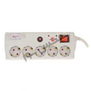 خرید و قیمت سیم رابط یا چندراهی برق 5 خانه ارزان power strip پارس شهاب مدل EM_O5