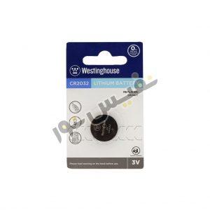 خرید و قیمت باتری سکه ای یا دکمه ای 3 ولت ارزان قیمت وستینگهاوس مدل CR2032