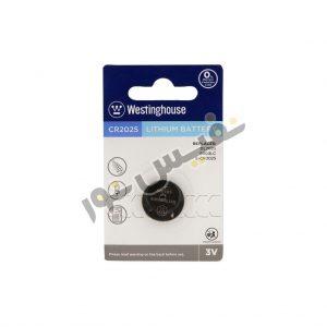 خرید و قیمت باتری سکه ای یا دکمه ای 3 ولت ارزان قیمت وستینگهاوس مدل CR2025