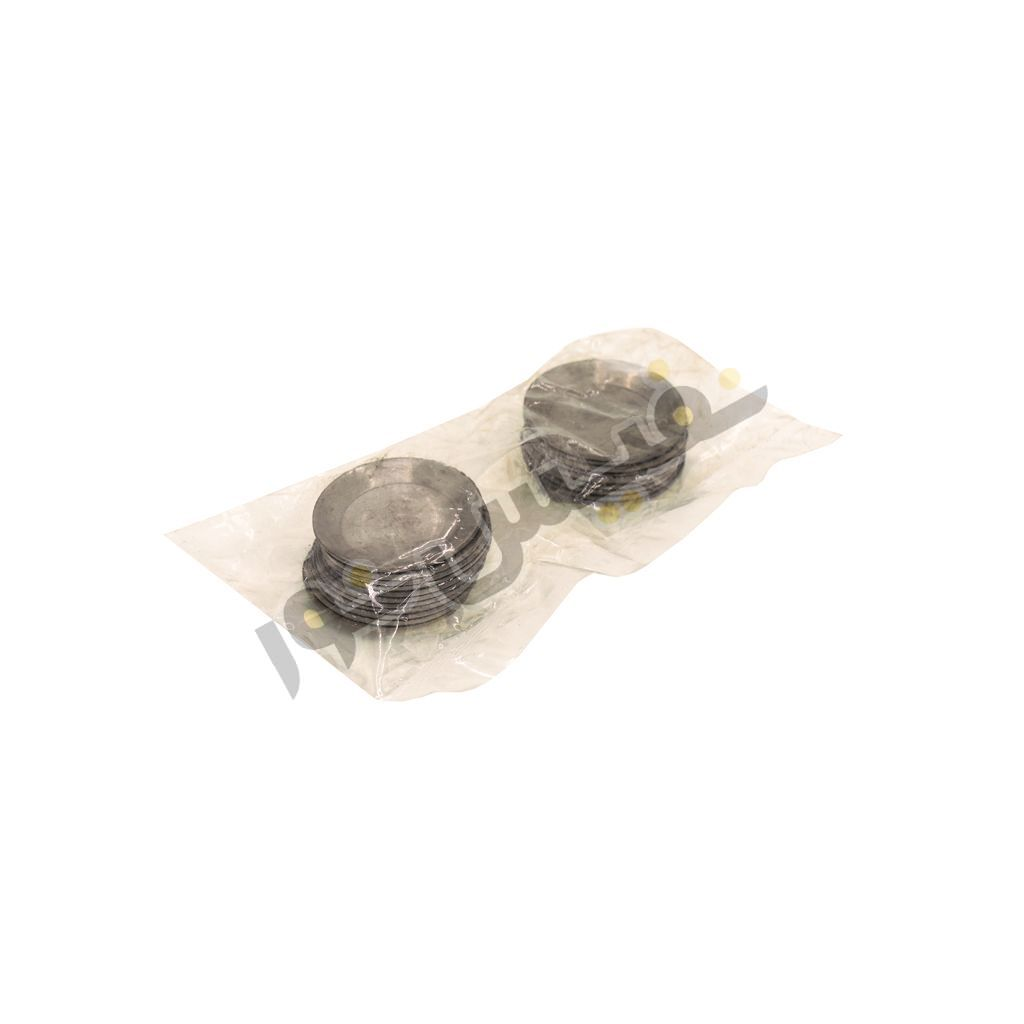 پولکی آلومینیوم مخصوص جوش احتراقی ارت یا کدولد (بسته 20 عددی)