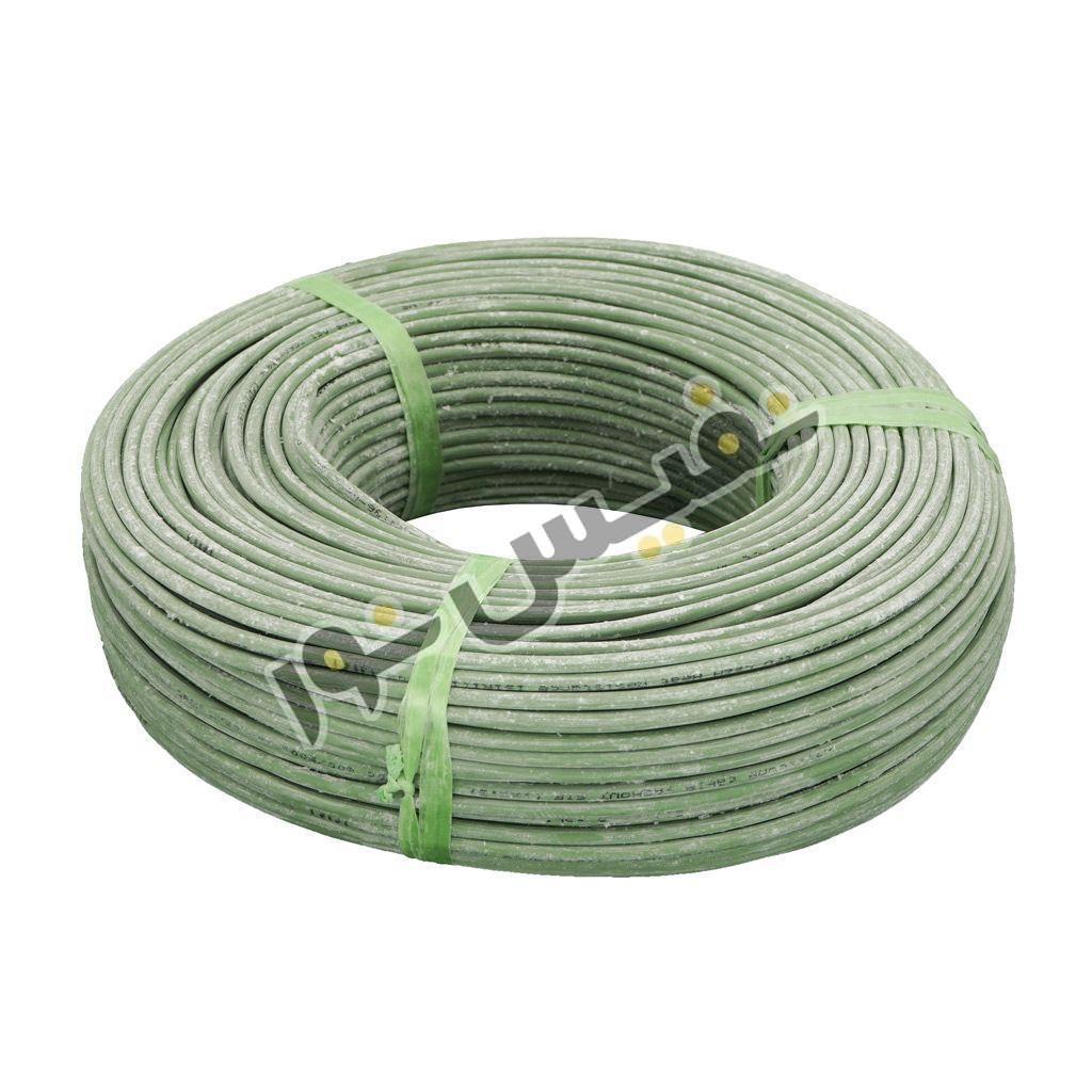 سیم افشان آلومینیوم ۱ در ۱٫۵ سبز ( ۱۰۰متر )