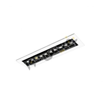 چراغ LED توکار مازی نور مدل لومیلد