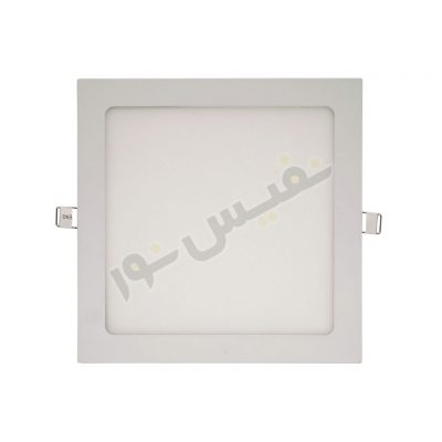 چراغ سقفی اسلیم مربع 18 وات زمان نور