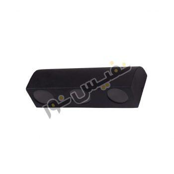 چراغ دیواری انحنادار دکوراتیو M7006/DR/3GU10