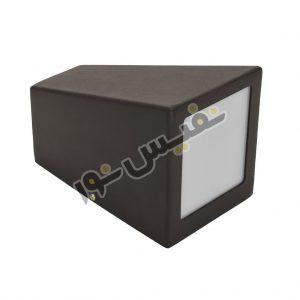 چراغ دیواری ذوزنقه ای (یک سرپیچ GU10)