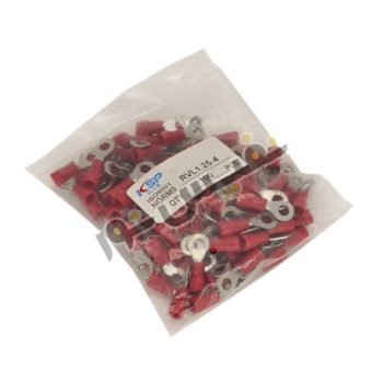 سرسیم حلقوی سایز ۱/۵ قطر حلقه ۴ (RV1.25-4) بسته 100 عددی