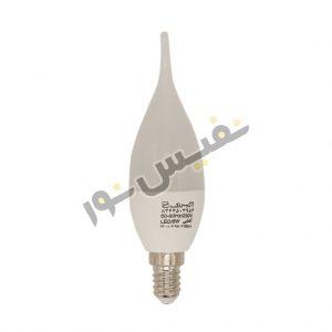 لامپ ال ای دی 6 وات اشکی مات آژیراک