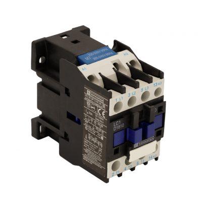 کنتاکتور 3 فاز LC1-D18-10-M7 بوبین 220 ولت Telemecanique