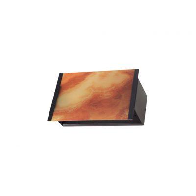 خریدو قیمت چراغ دیواری داخلی دکوراتیو فلزی با قابلیت چاپ تصویر D7009/D/E27