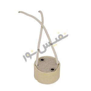 سوکت لامپ هالوژن پایه GU10