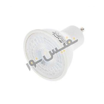 لامپ هالوژن ال ای دی 6 وات زمان نور پایه GU10