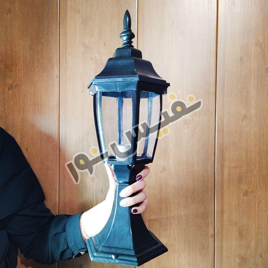 چراغ حیاطی پلاستیکی مدل OL01-P