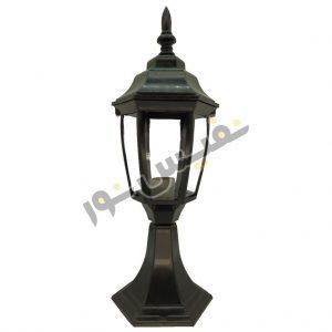 خرید و قیمت چراغ حیاطی پلاستیکی OL01-P رومی سردری پارکی خمره ای